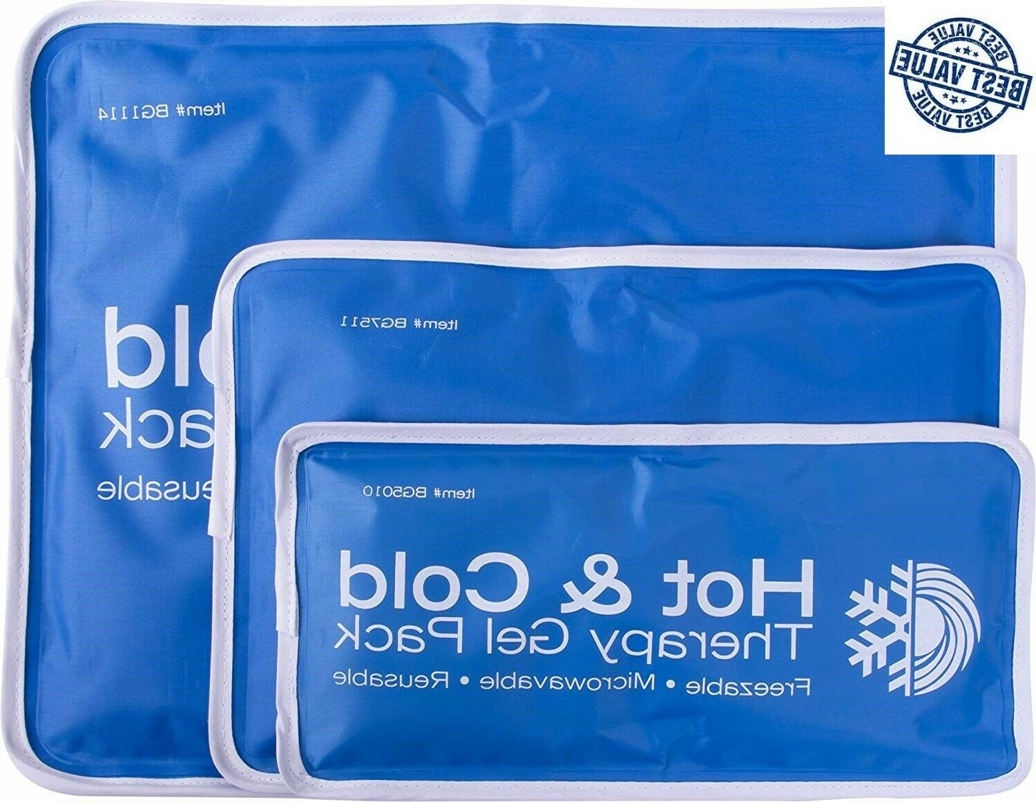 reusable gel ice pack wrap cold