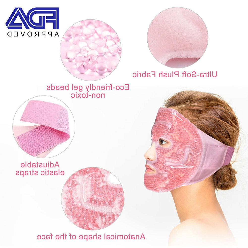 Reusable Face mask Puffy Eyes Migraine Relief