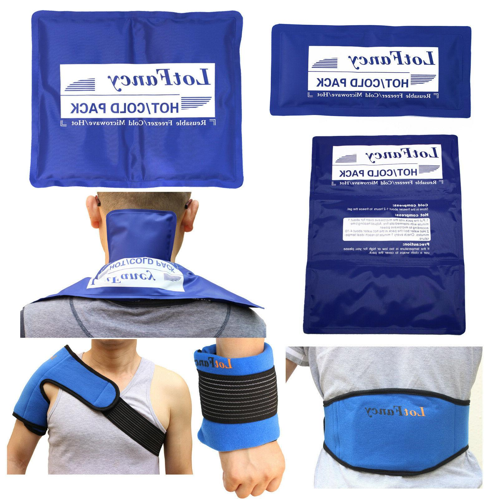 reusable hot cold gel ice pack heat