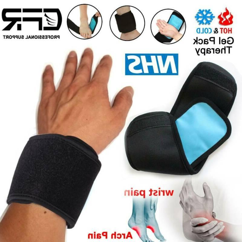 Reusable Hot Ice Pain Ankle Leg Compress Wrap CFR