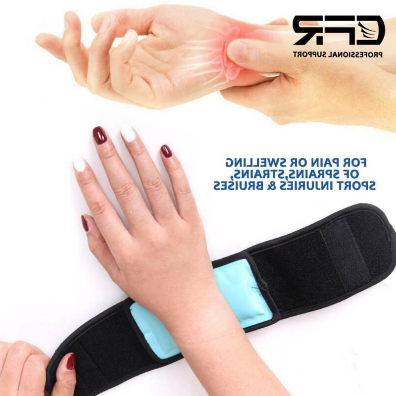 Reusable Cold Gel Ice Ankle Compress Wrap CFR