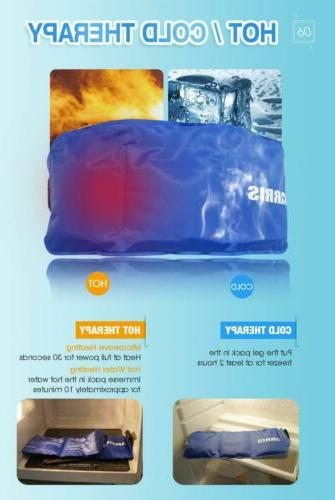 ARRIS Reusable Hot Gel Heat Therapy for Ankle