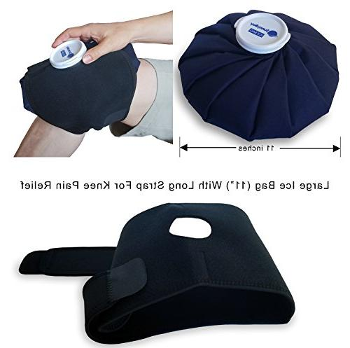 Reusable with Strap: Cold for - Non Electric, Deep Hot Wrap