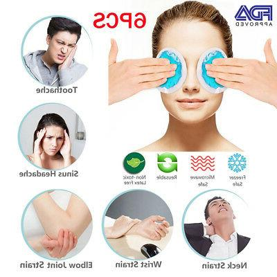 Eye Hot Gel Ice Heating Therapy First Toothache Relief