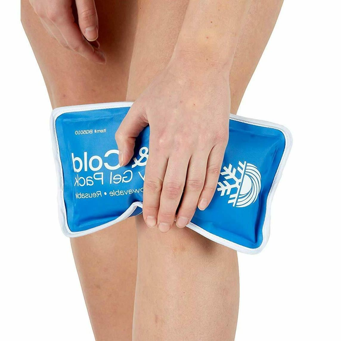 new Large Therapy Reusable Gel Ice Pain Relief