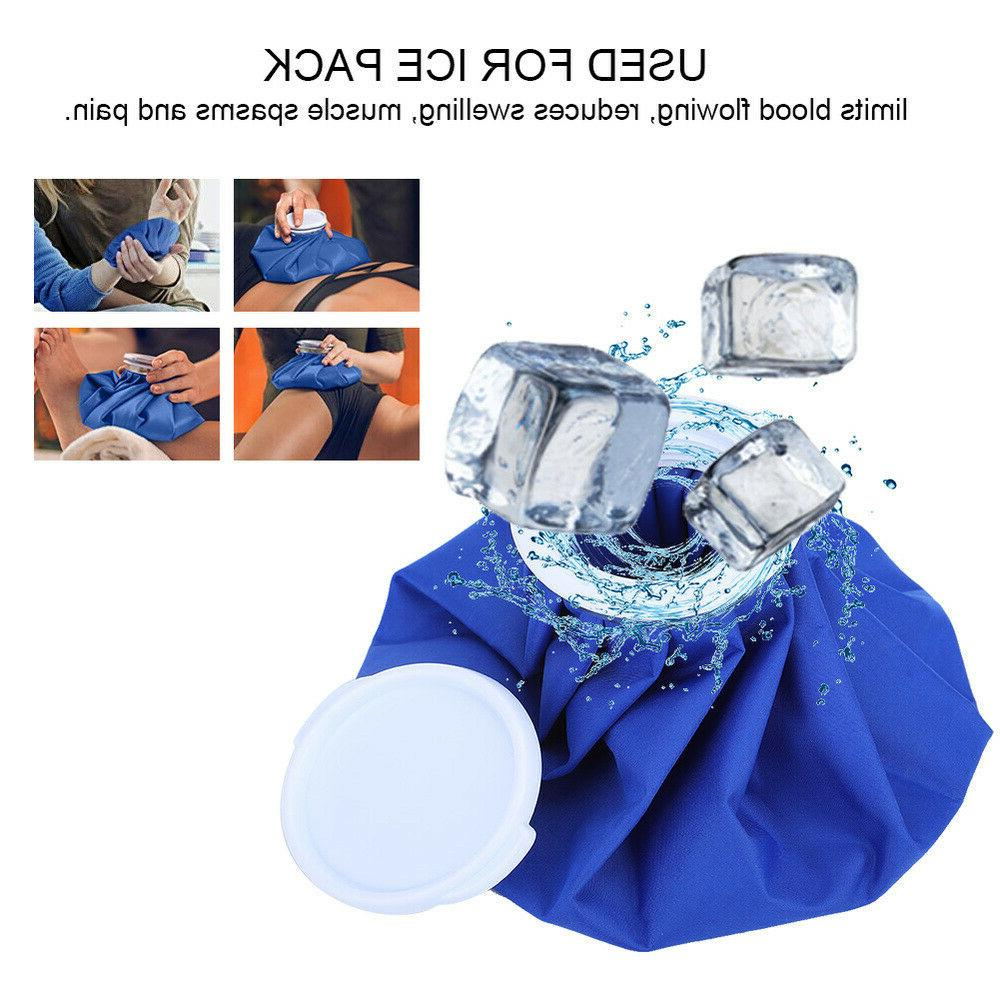 Reusable Ice Pack Bandage Set Hot Cold Therapy Knee Wrist An