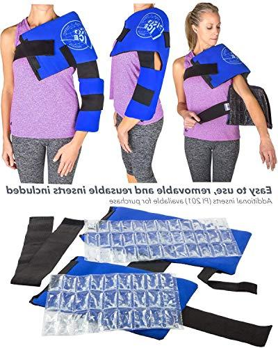 Pro Ice and Real Ice Pack Wrap Wearable Support