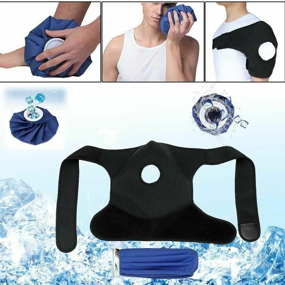 Shoulder Ice Bag Strap Protective Gear Injury Pain Relief Ba