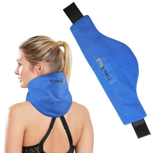 shoulder neck ice pack wrap cold hot