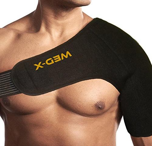 Shoulder Gel Hot/Cold Injury Relief Rotator Cuff, Rheumatoid Treatment, Bursitis, AC Sports Injuries