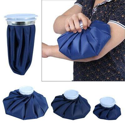 Reusable Ice Bag Pain Relief Heat Pack Sports Injury First A