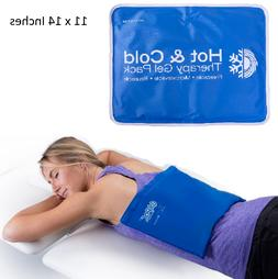 Large Cold Therapy Pain Relief Pad Reusable Gel Ice Pack Spo