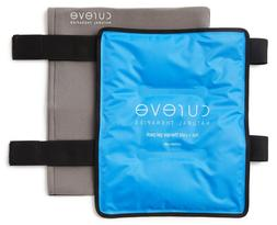 Large Hot and Cold Therapy Gel Ice Pack with Wrap by Cureve