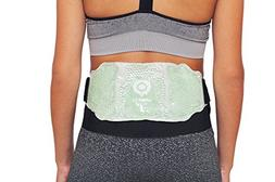 Lower Back Hot / Cold Therapy Gel Bead Wrap | Microwaveable,