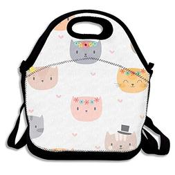 Lunch Bag Large Lunch Bag, Thermal Big Lunch Bags For Kids F