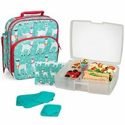 lunch bag and box set for girls