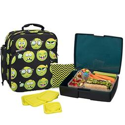 Bentology Lunch Bag and Box Set - Includes Insulated Bag wit