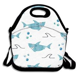 Lunch Bags, Bento Lunch Bag, Thermos Reusable Lunch Bag For