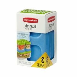 Rubbermaid Lunch Blox 3-Pack BPA-Free Blue Ice for Container