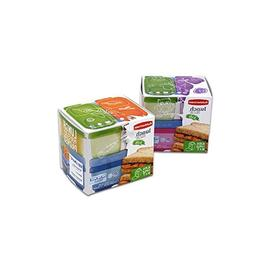 Rubbermaid 7 Piece Lunch Blox Kit 2 Assorted Food Storage Co
