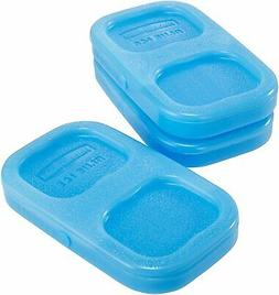 Rubbermaid LunchBlox Ice Pack Small Blue 3 Pack 1857118