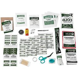MediCare Deluxe 115 Piece Essential First Aid Supply Kit Hom