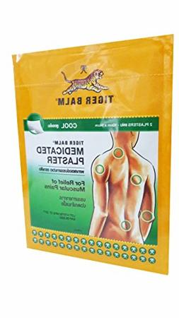 Tiger Balm Medicated Cool Plaster Pains Relief, BIG Size 10