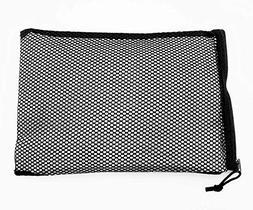 """Cooler Shock 3 Pack of 10 by 14"""" Mesh Zipper Bags - Carry, I"""