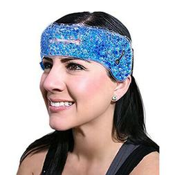 Migraine Ice Pack Hot Cold Therapy Wrap for Headaches Sinus