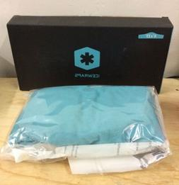 "ICEWRAPS Neck Ice Pack Wrap 6""x23"" Blue New Open Box"