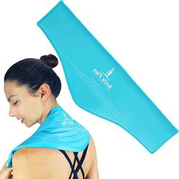 Neck Ice Pack by Allonetech- Shoulder Ice Pack - Hot Cold Th