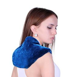 Neck + Shoulder Wrap - Hot & Cold Therapy – Natural Clay B