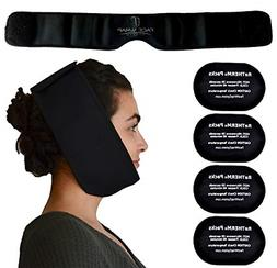 Neoprene Face Ice Pack Wrap System For Wisdom Teeth Migraine