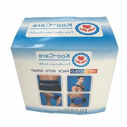NEW Koo-Care 2 Flexible Gel Ice Pack and 1 Wrap with Elastic