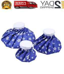 Newstyle Ice Bag, 3 Pack Hot And Cold Reusable Ice Bag,Relie