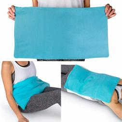 """ICEWRAPS Oversize Ice Pack with Soft Fabric Cover-12""""x21"""""""
