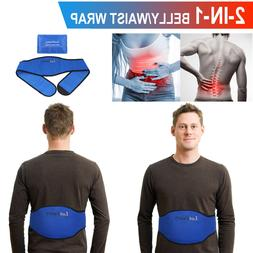 Pain Relief Flexible Ice Gel Pack For Lower Back Belly Waist