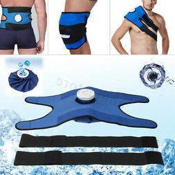 Pain Relief Hot & Cold Therapy Reusable Ice Bag Pack Wrap Fo