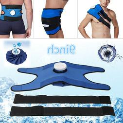 Pain Relief Hot Cold Therapy Reusable Ice Bag Pack Wrap for