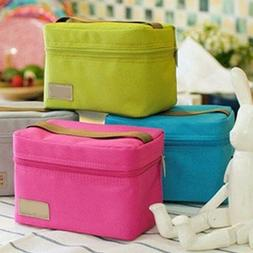 Portable Waterproof Insulated Bag Tote Lunch Bag Small Ice P