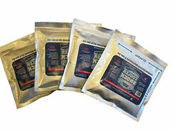 """Cooler Shock Ready to USE 4 Mid Size Cooler Freeze Packs 10"""""""