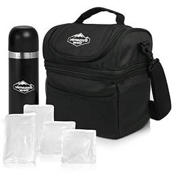Dynamic Gear Refrigerated Lunch Box Tote Bag, Large, Adults/