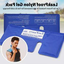 Reusable Hot Cold Cool Ice Gel Pack Shoulder Neck Therapy Wr