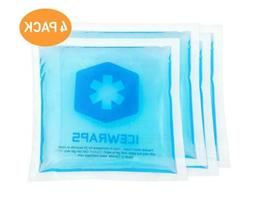 Reusable Hot Cold Packs - Set of 4 Microwaveable Hot Packs o