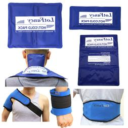 Reusable Hot Cold Gel Ice Pack Heat Therapy Wrap First Aid K