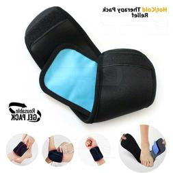 Reusable Hot Cold Gel Ice Pack Pain Relief Ankle Knee Leg Ar