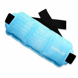 Reusable Ice Pack- Hot and Cold Gel Therapy Packs with Wrap