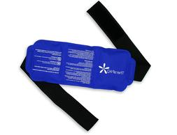 Reusable Ice Pack with Strap by TheraPAQ - Soft & Flexible G