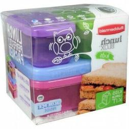 Rubbermaid Lunch Blox Kit, Tall Microwave, Dishwasher and Fr