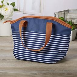 Fit & Fresh Samantha Insulated Lunch Bag, Stylish Lunch Tote